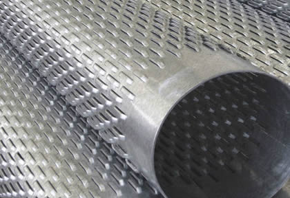 Perforated Sheet Filter Pipe Bridge Slotted Screen