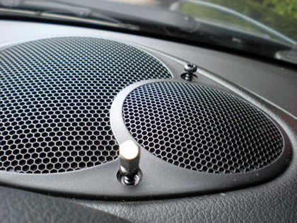 Speaker Grill Filters Sound And Protects Device