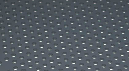 Plastic Perforated Sheet Lightweight Anti Corrosive